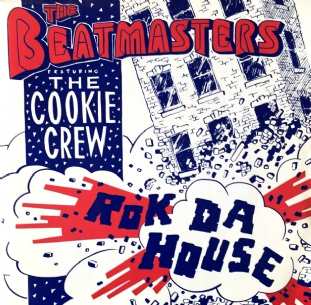 "Beatmasters (The) ft The Cookie Crew ‎- Rok Da House (7"") (VG-EX/EX)"